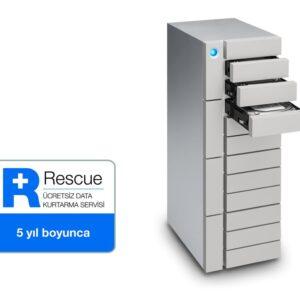 120TB LACIE STFJ120000400 12BIG 2X THUNDERBOLT3 + USB 3.1 RAID 0/1/5/6/10/50/60 HARİCİ DİSK