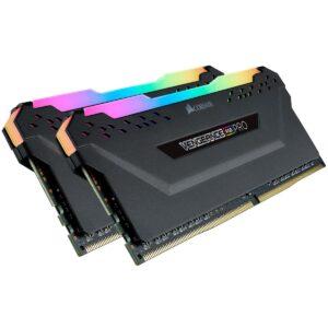 CORSAIR CMW16GX4M2D3600C18 16GB (2X8GB) DDR4 3600MHz CL18 VENGEANCE RGB PRO SOĞUTUCULU SIYAH DIMM BELLEK