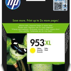 HP 953Xl Sarı Yüksek Kapasiteli Mürekkep Kartuş (F6U18Ae)