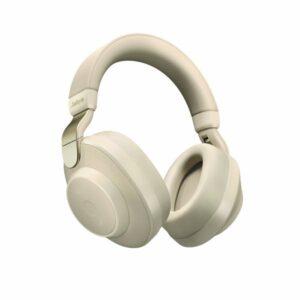 Jabra Elite 85h Aktif-Pasif Gürültü Önleyici Kulak Üstü Bluetooth Kulaklık Gold Beige
